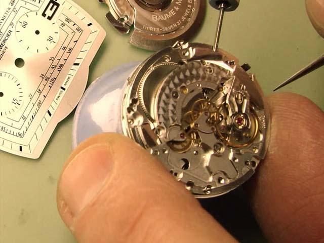 Afbeelding van een horlogemaker